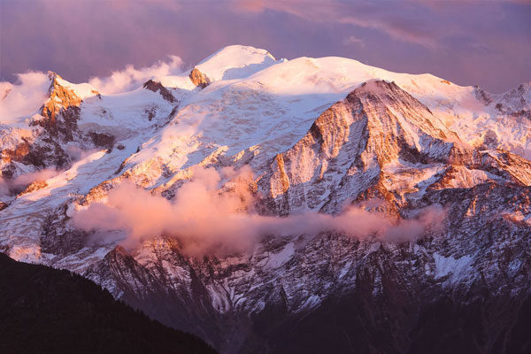 Mont-Blanc, Haute-Savoie, França