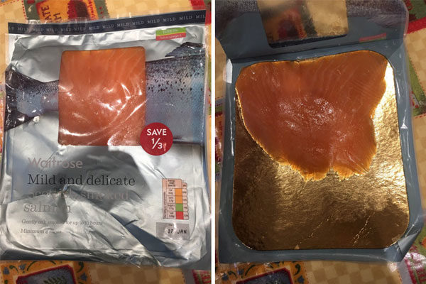 Meio salmão