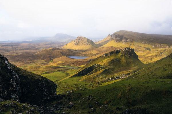 O Quiraing, Ilha de Skye, Escócia