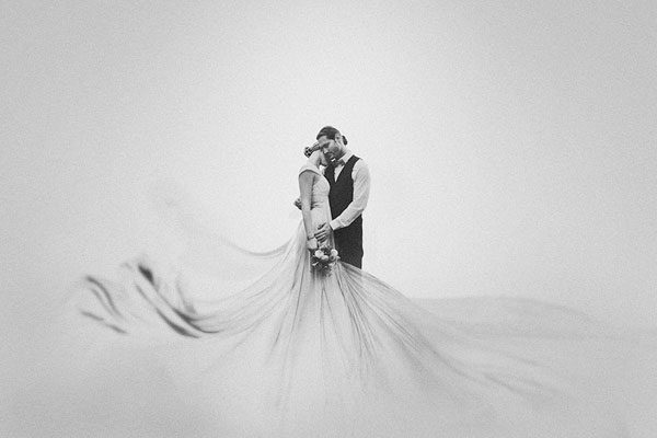 Vencedor da categoria de casamento