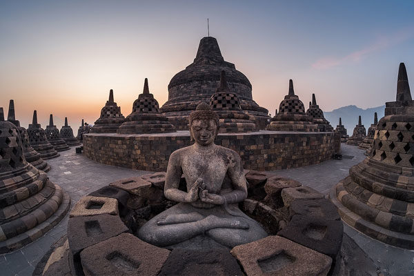 Borobudur, Java, Indonésia