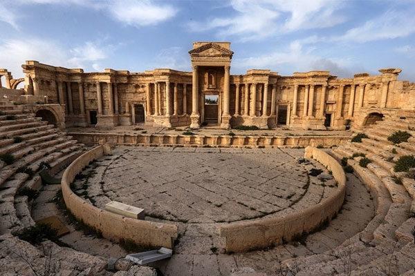 Palmira, Síria.