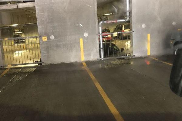 Linhas do estacionamento