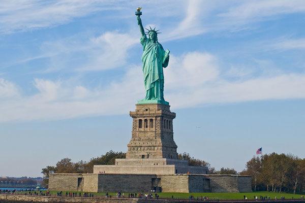 Estátua da Liberdade, Nova York, EUA.