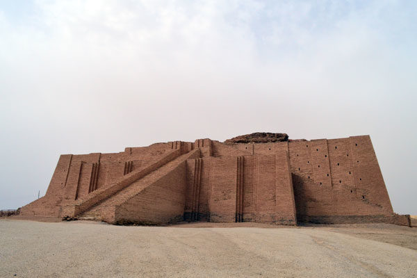 Ziggurat at Ur, Iraque