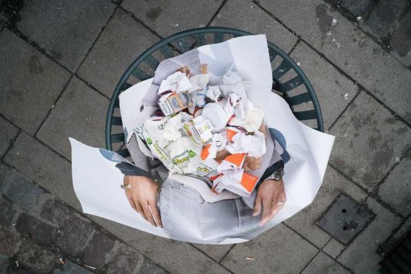 Entre o lixo