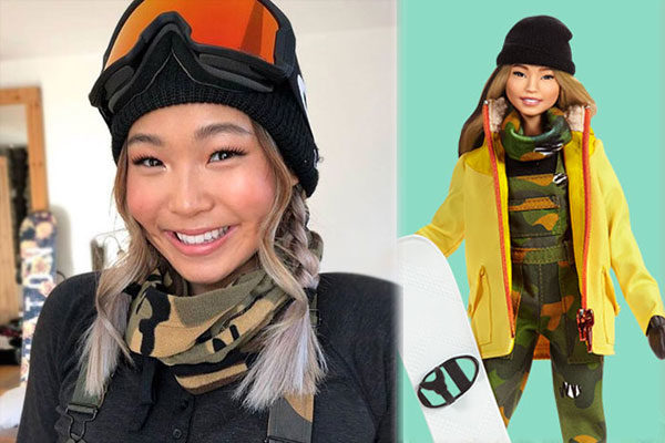 Chloe Kim, campeã de snowboard
