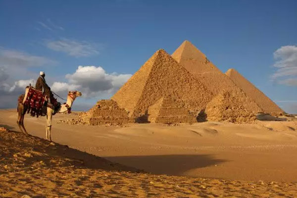 Pirâmides, O Cairo, Egito