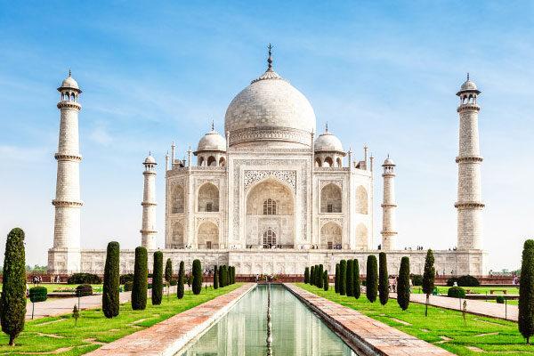 Taj-Mahal, Agra, Índia