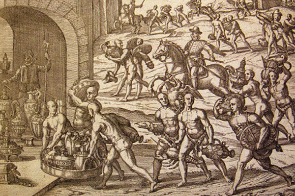 O tesouro de Atahualpa