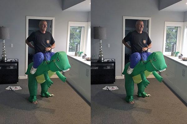 Papai dinossauro