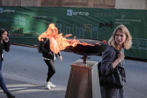 Em chamas