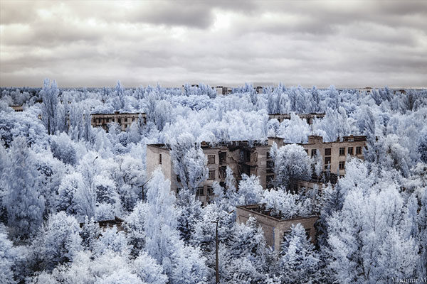 A cidade fantasma de Pripyat