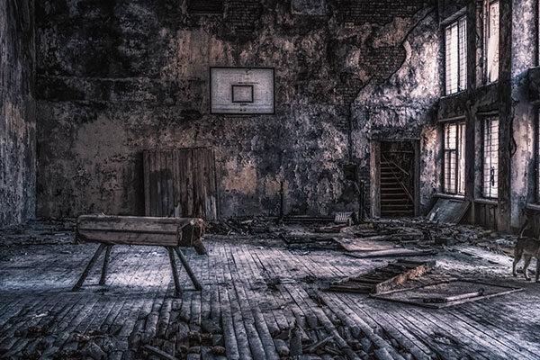Sala de esportes de Pripyat