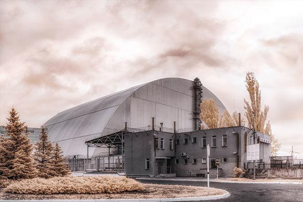 O Sarcófago da Usina Nuclear