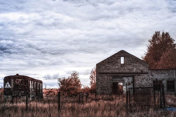 Fazenda abandonada