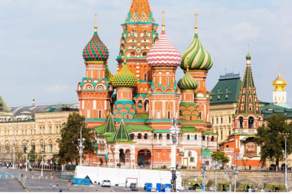 Moscou, a enigmática capital russa