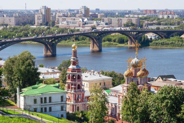 Nizhni Nóvgorod, o bolso da Rússia