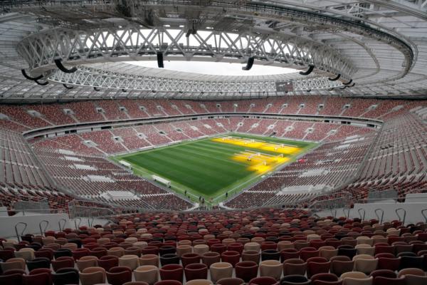 Estádio Olímpico Luzhnikí - Moscou