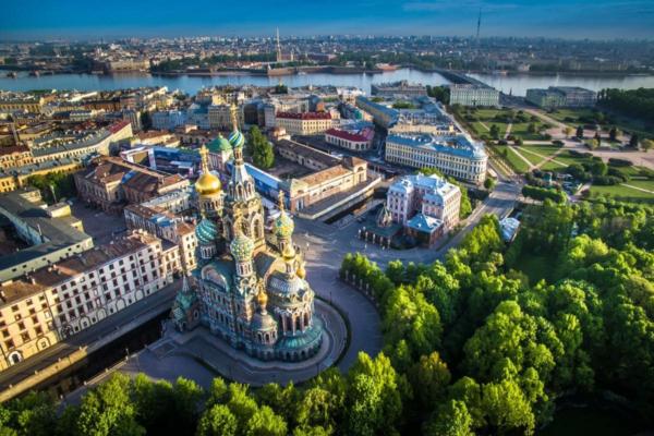 São Petersburgo, a
